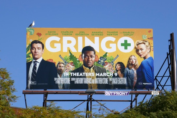 Gringo movie bilboard