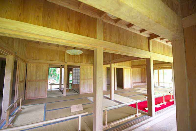 interior, palace, rooms, tatami mats, sliding doors