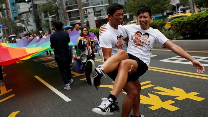 TAIWAN JADI NEGARA ASIA PERTAMA IKTIRAF PERKAHWINAN SEJENIS