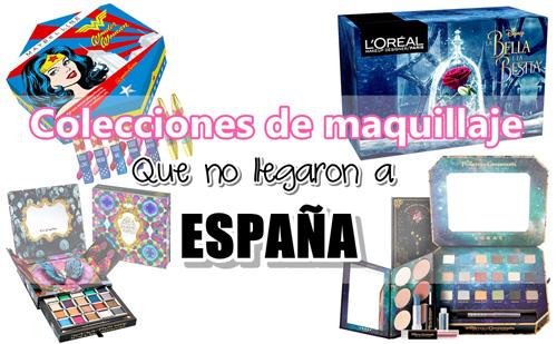 4 Increíbles colecciones de maquillaje que nunca llegaron a España