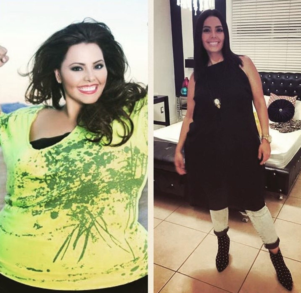 #20. The solution to weight loss can be as simple as maintaining a daily routine just like she did. - 23 Inspirational Before/After Photos Of People Who Can Say 'I Did It.'