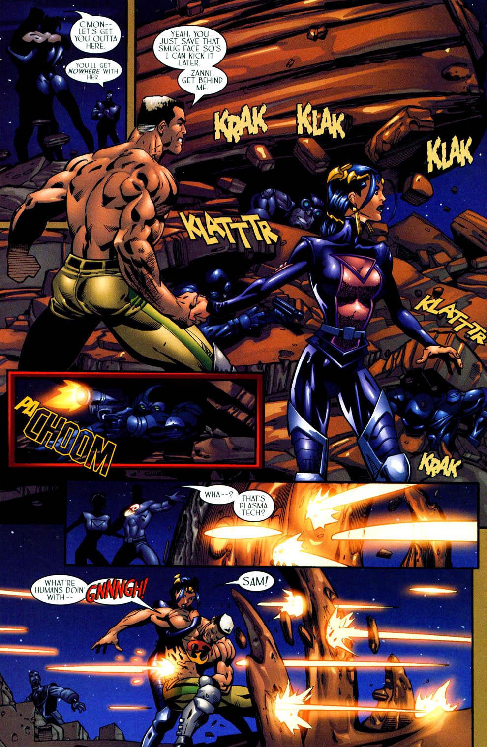 Read online Sigil (2000) comic -  Issue #11 - 21