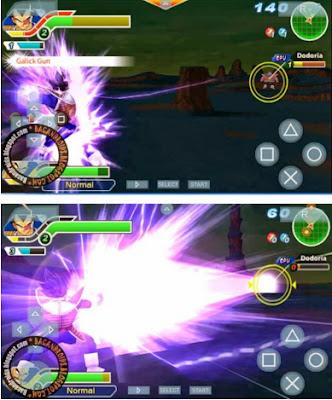 download Dragonball Z Tenkaichi Tag Team untuk PSP Android