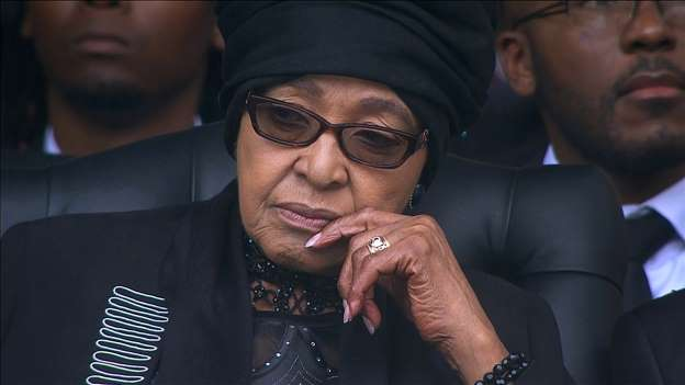 Winnie Madikizela-Mandela admitted to hospital