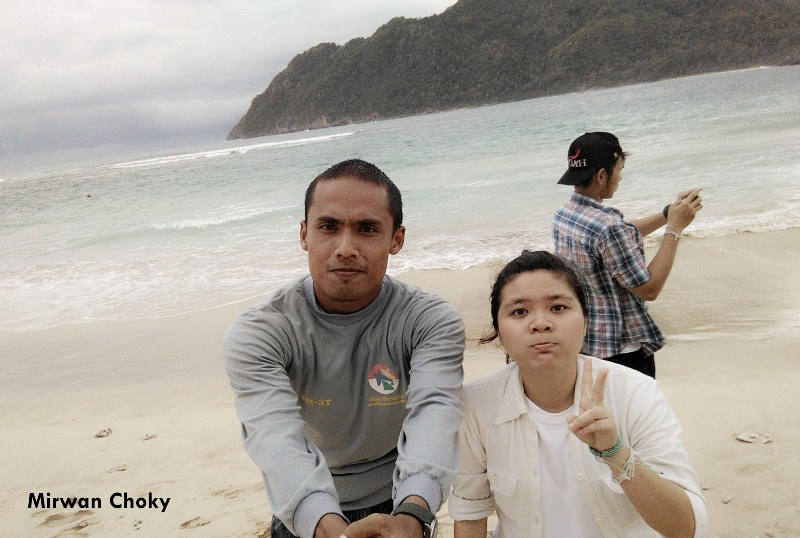 Guiding Thai Tourists in Lampuuk Beach, how to guide tourist on beach, tips to guide tourist