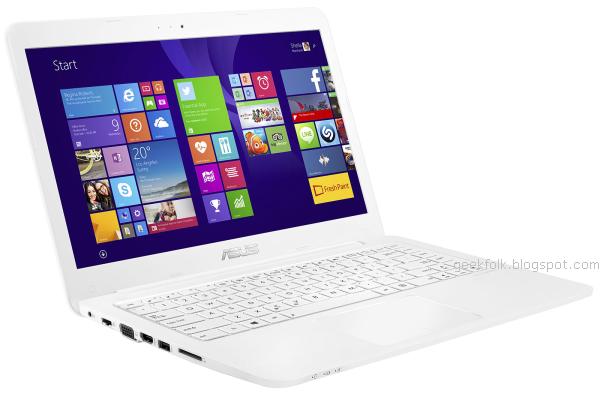 Asus EeeBook E402M Elegant White