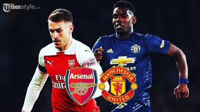 Prediksi Pertandingan Arsenal vs Manchester United Liga Inggris di RCTI Minggu Malam Jam 23.30 WIB