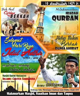Free Spanduk Idul Adha CDR