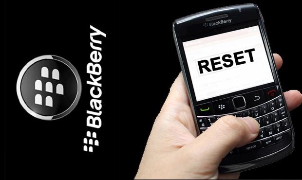 Cara Reset Blackberry