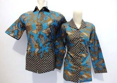 Model seragam batik guru