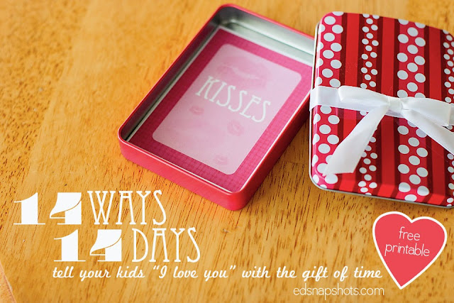 14 Ways 14 Days - Includes free printables   Everyday Snapshots
