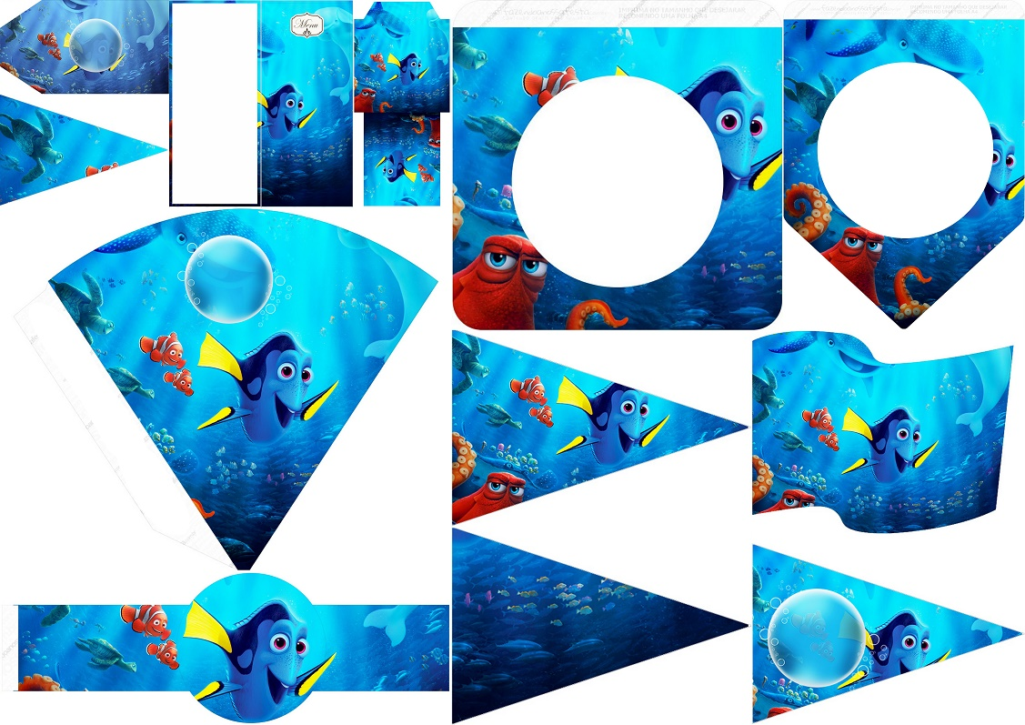 Finding Dory Free Party Printables Oh My Fiesta In English