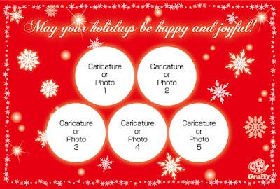 クリスマスカード Christmas card