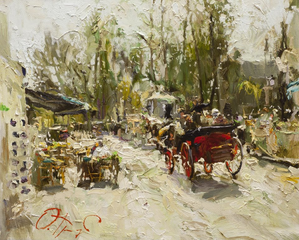 Post Impressionist Oil Paintings