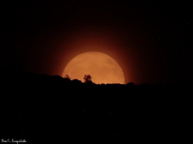 Ανατολή Σελήνης 14/11/2016