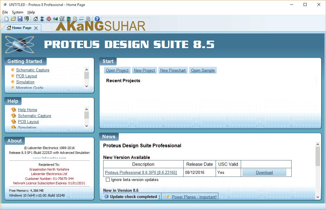 Download Proteus 8 Professional 8.5 SP1 Build 22252 Full Version