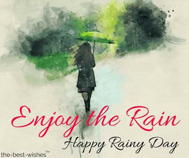 happy rainy day pic