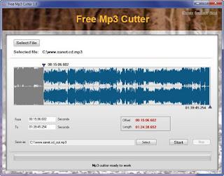 Tomatosoft Free Mp3 Cutter Portable