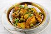 Aloo Mattar (Potato and Pea Curry)