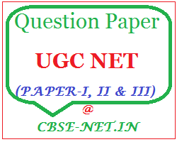 image : UGC NET Question Papers - June 2015 @ cbse-net.in