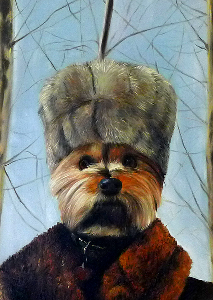 11-The-Russian-Splendid-Beast-Your-Animal-Friend-on-an-Oil-Painting-www-designstack-co