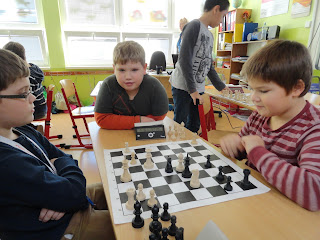 1. kolo školského šachového turnaja