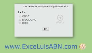 Las tablas de multiplicar simplificadas (2).