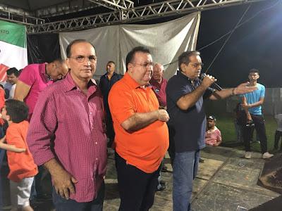 Resultado de imagem para bernardo e waldenio nas eleições 2018
