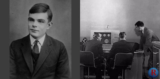Musik tersebut dibuat tahun 1951 pada sebuah alat raksasa yang dibangun oleh sang jenius Inggris, Alan Turing