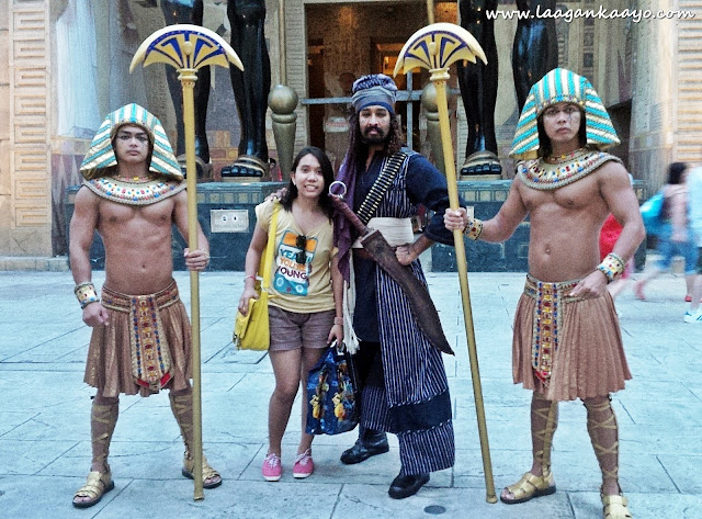 Army of Anubis at Universal Studios Singapore