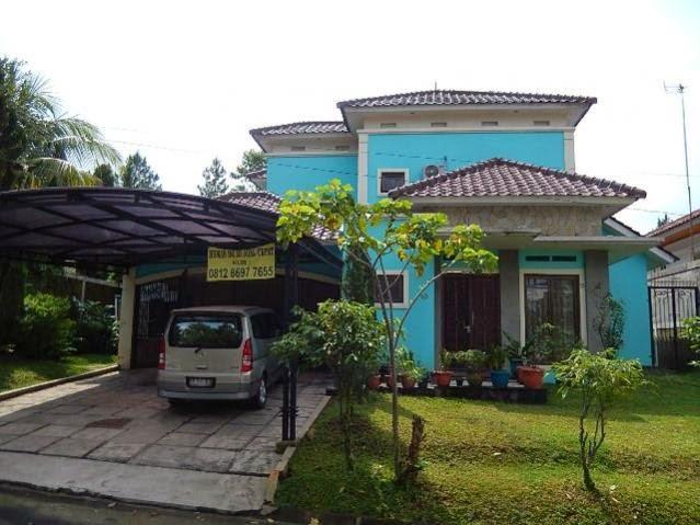 Rp. 5.000.000.000   Rumah Kontur Level Tanah Luas 565 Di Imperial Golf Sentul City (code:24)