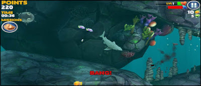 تحميل hungry shark مهكرة