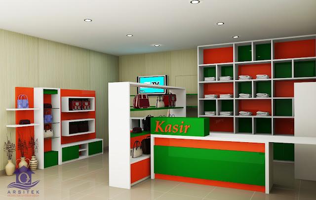 Desain Interior Toko Laundry di Wonogiri