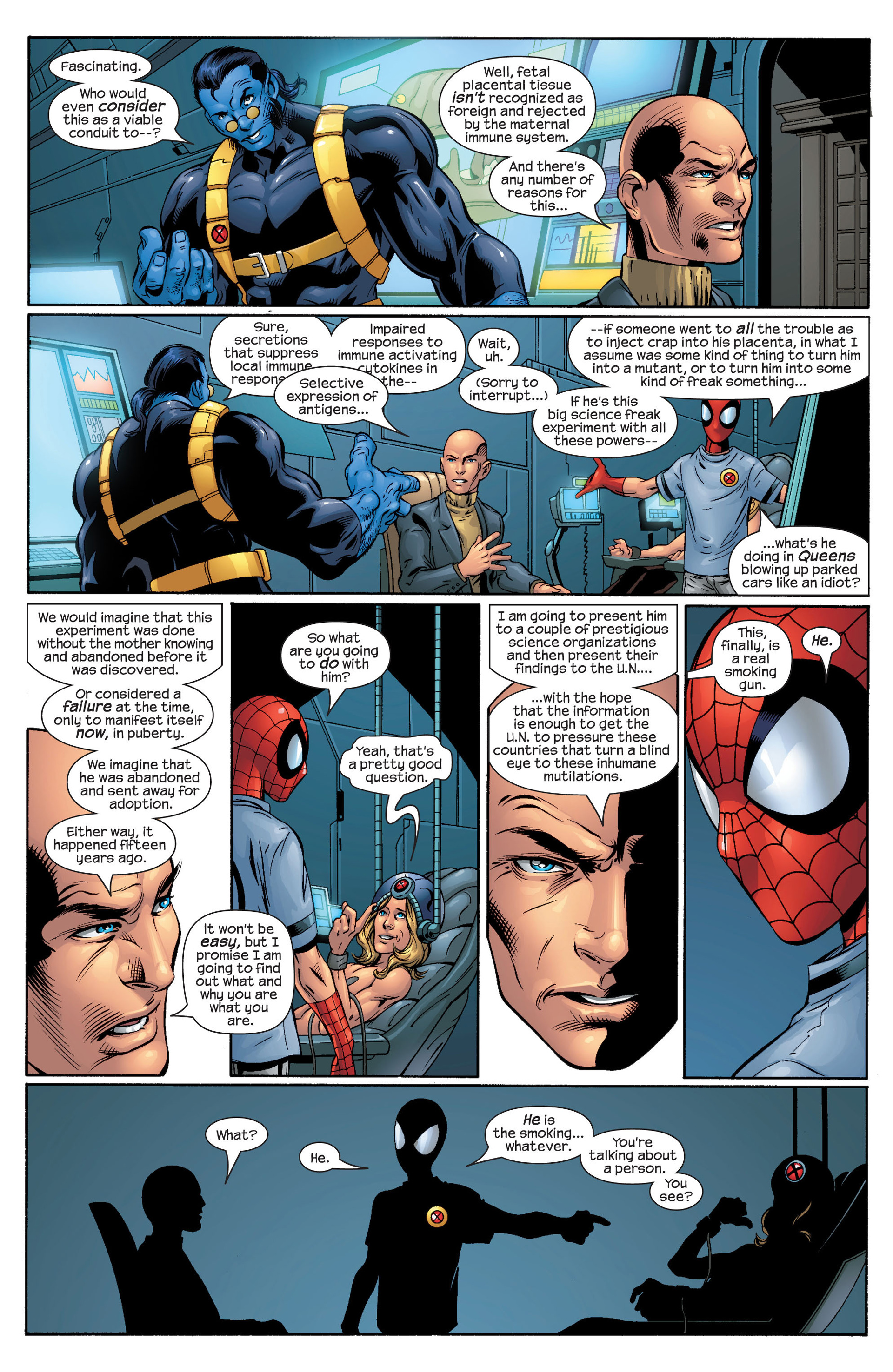 Read online Ultimate Spider-Man (2000) comic -  Issue #44 - 17