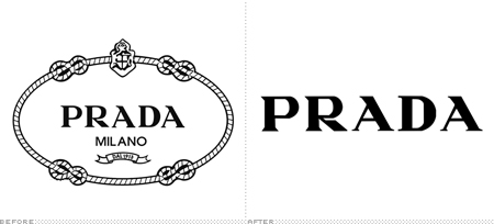 9d5f78fae Uma curiosidade: as bolsas da marca também apresentam um pequeno triângulo  que contém o nome da marca e o brasão do logotipo original.