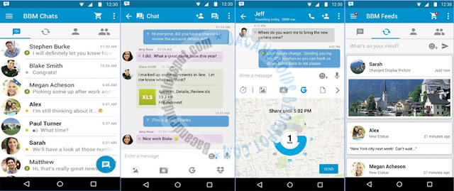 Update BBM versi 3.1.0.13 APK terbaru For android official theme