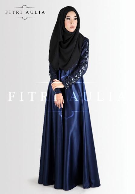 model baju muslim bahan satin