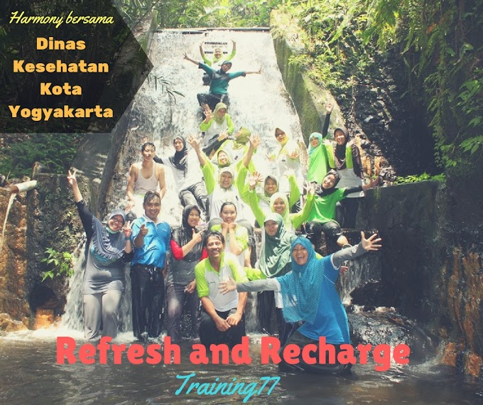 Harmony Outbound Tenaga Kesehatan dari Dinas Kesehatan Kota Yogyakarta