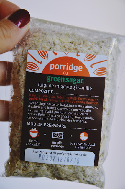 porridge green sugar