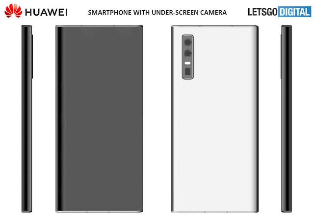 اول هاتف من هواوي بكاميرا امامية تحت الشاشة