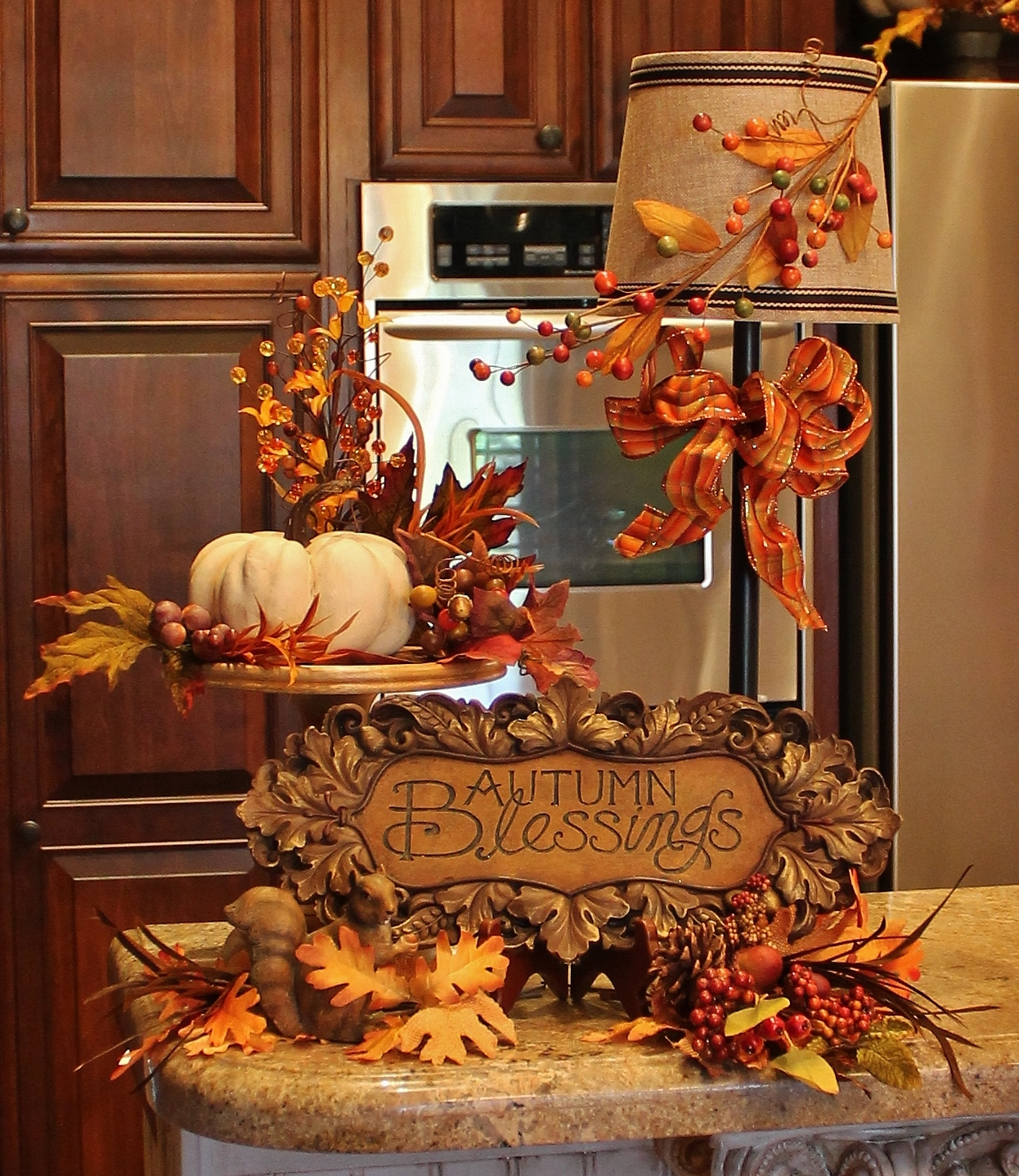 Decorations For Fall: Southern Seazons: Fall In The Kitchen