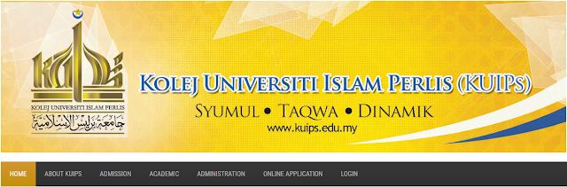 Rasmi - Jawatan Kosong di (KUIPs) Kolej Universiti Islam Perlis 2019