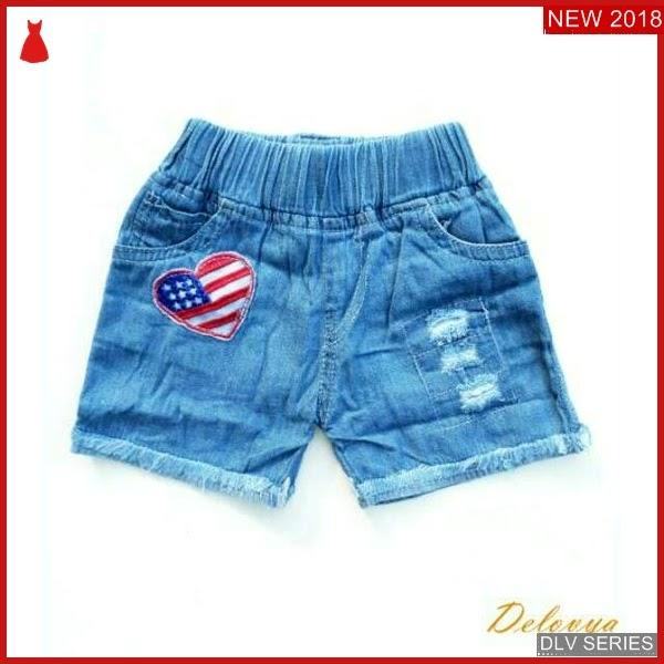 DLV64H36 Hot Pant Anak Love Celana Anak Balita Murah BMG