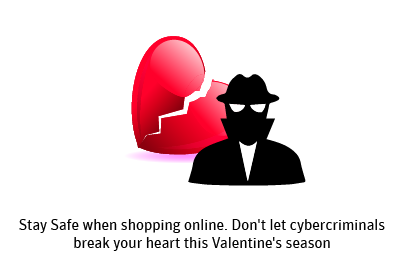 Prevent Heartaches this Valentine's Day, cyber criminals, 3 Simple Steps to Online Safety, Giveaway