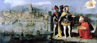 Toma de Sevilla por Fernando III en 1248 - Francisco Pacheco