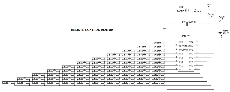 remote control schematic hdmi audio [ 1408 x 566 Pixel ]