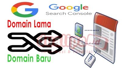 Cara mengarahkan domain lama ke domain baru di google search console