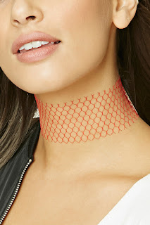 image of Fishnet chokers