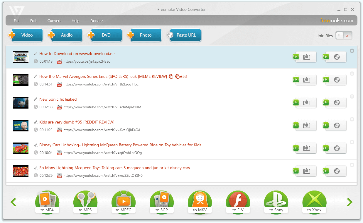 Freemake Video Converter Full version free download