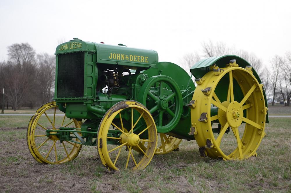 The Oldest John Deere : Just a car guy the oldest known model d sold for